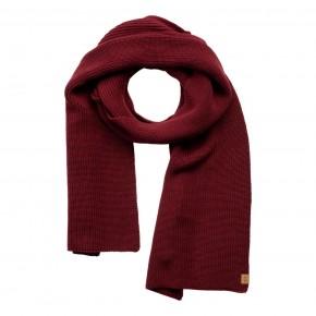 Écharpe en coton Bio rouge barolo