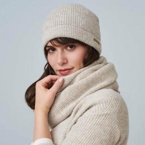 Bonnet coton/laine Biologique beige