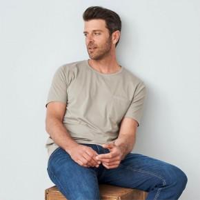 T-shirt homme en 100% coton pima Bio