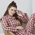 Pyjama femme en flanelle de coton Bio
