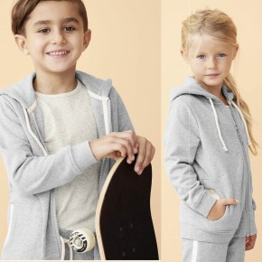 Veste à capuche enfant en coton Bio