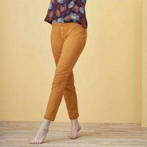 Pantalon de pyjama femme 100% Coton Bio cinnamon