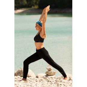 Panatlon de yoga femme en laine merinos et soie