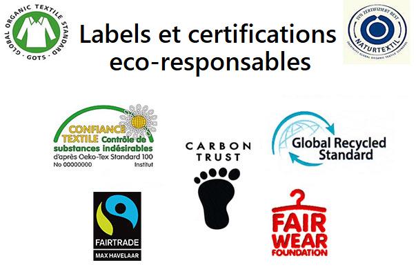 Labels et certifications ethiques et eco-responsables