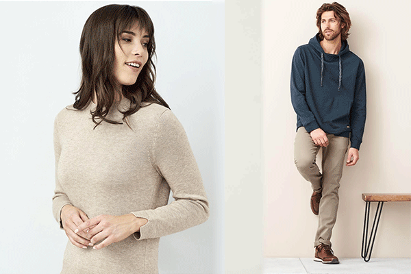 Sweat Bio et Pull en laine, sweatshirt en coton biologique ou 100 % recyclés sweats eco-responsables